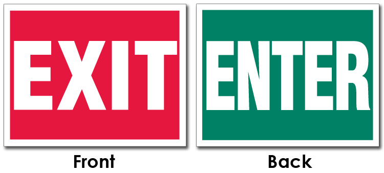 graphic about Printable Exit Sign referred to as Most popular Input Exit Indication #PS44 Advancedmagebysara