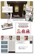 Magna-Peel Postcard 10.5x5.5 with 3 Perforated Coupons and Business Card Magnet 3.5x2-0
