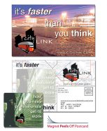 Magna-Peel Postcard 8.5x5.25 with 3.5x4 Magnet-0