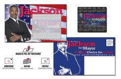 Political Magna-Peel Postcard 8.5x5.25 with 3.5x4 Magnet-0