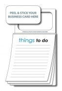Magnetic Note Pad - Stock Things To Do 50 Sheet-0