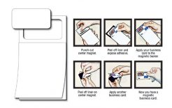 Magnetic Note Pad - BLANK Sheet 50 Sheet-0