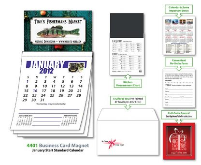 Business Card Magnet Calendar-22