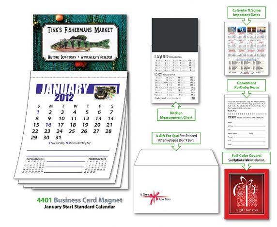 Business Card Magnet Calendar-22