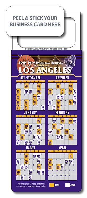 M.B.C. Sport Schedules - Pro Basketball 3.5x9-977