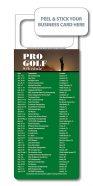 M.B.C. Sport Schedules - Pro Golf 3.5x9-0