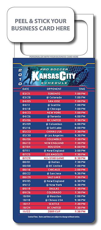 M.B.C. Sport Schedules - Pro Soccer 3.5x9-982