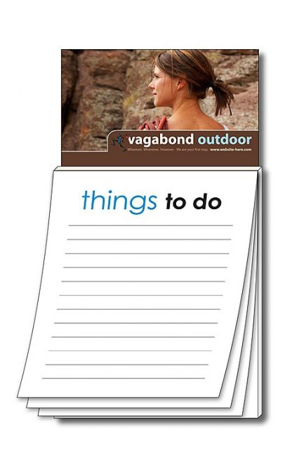 Magna-Pad Business Card Magnet - Stock Things To Do 50 Sheet-31
