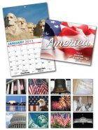 13 Month Custom Appointment Wall Calendar - PATRIOTIC-0