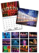 13 Month Custom Appointment Wall Calendar - NIGHTLIFE-0