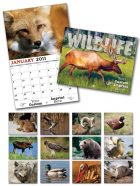 13 Month Custom Appointment Wall Calendar - WILDLIFE-0
