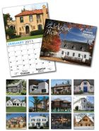 13 Month Custom Appointment Wall Calendar - WELCOME HOME-0