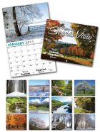 13 Month Custom Appointment Wall Calendar - SCENIC VIEW-0