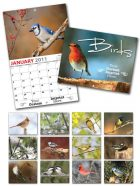13 Month Custom Appointment Wall Calendar - BIRDS-0