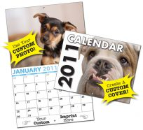 13 Month Custom Photo Appointment Wall Calendar-0