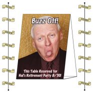 Announcement Table Tent - Laminated (5x7 - Folded) - 14 pt.-0