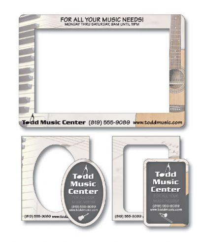 Magnet - Picture Frame Double Punch 7.375x5-75