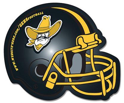 Football Helmet Shape Magnet - 4.25x3.5-93