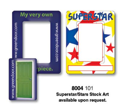 Magnet - Picture Frame Rectangle Punch 3.5x4.5-94