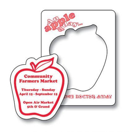 Magnet - Picture Frame Apple Punch 3.5x4.5-97