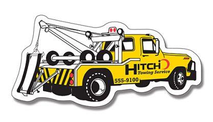 Tow Truck Shape Magnet - 4.75x2.25-119