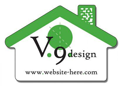 Magnet - House Shape 2.75x1.875-133
