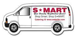 Van Shape Magnet - 3.75x1.625-0