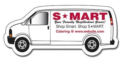 Van Shape Magnet - 3.75x1.625-149