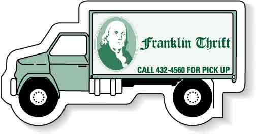 Truck Shape Magnet - 3.125x1.4375-0