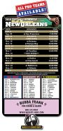 Magnet Sport Schedule - 3.5x6 Football Round Corners-0