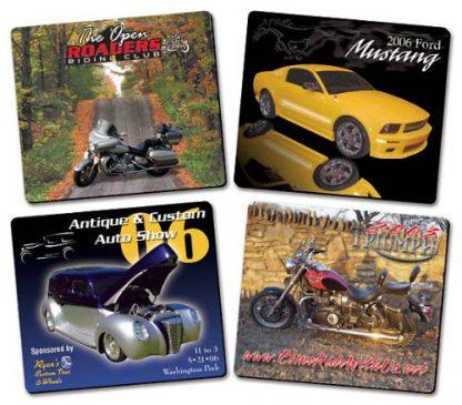 Auto Showcase Magnet - 3.5x4 Round Corners-332