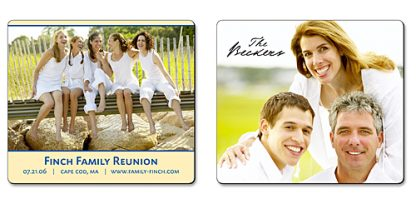 Family Announcement Magnet - 3.5x4 Round Corners-352