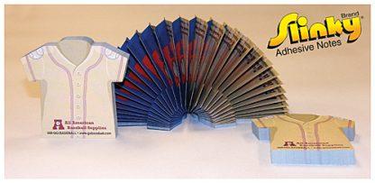 Slinky Adhesive Note Pad - T-Shirt - 100 Sheets-1493