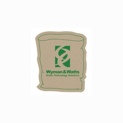 Recycled Paper Bag Magnet - 1.25x1.75-0