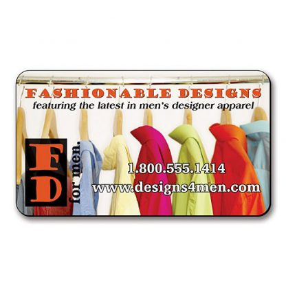 Business Card Magnet - 3.5x2 Round Corners - 30 Mil-1775