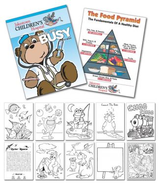 Activity Coloring Book