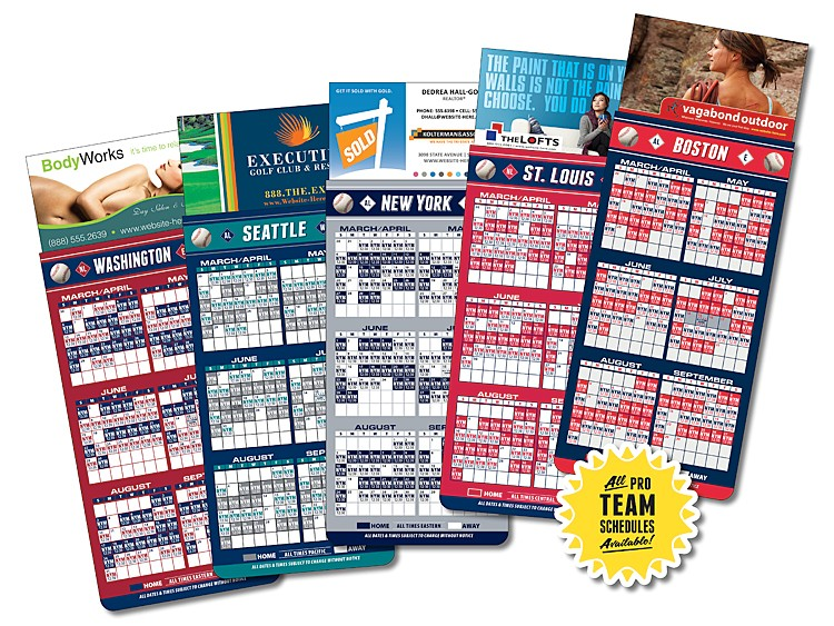 Business card magnets with baseball schedule solutioingenieria Gallery