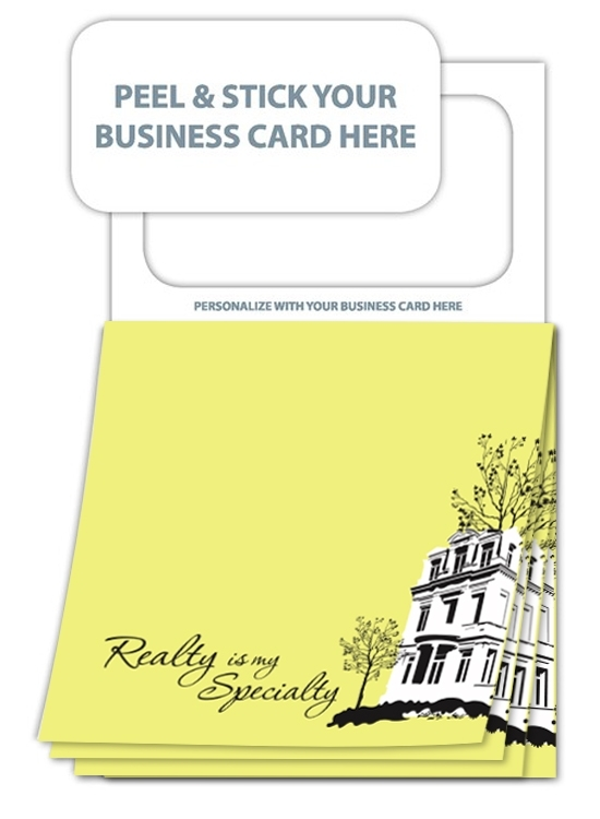 Magnetic realty sticky pad colourmoves